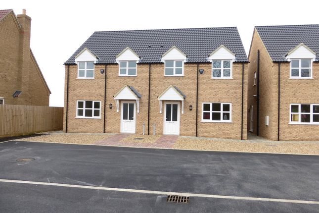 Thumbnail Semi-detached house for sale in Station Road, Manea, March