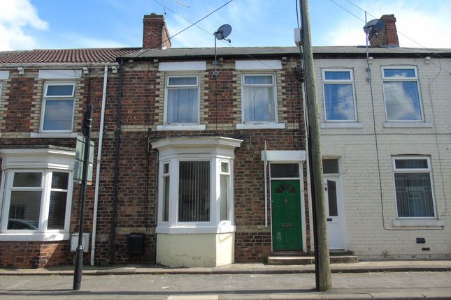 Thumbnail Terraced house to rent in North Road East, Wingate