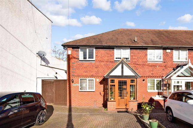 2 bed end terrace house for sale in Essex Road, Longfield, Kent DA3