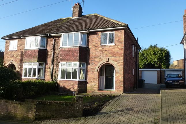 Thumbnail Semi-detached house to rent in Bonneycroft Lane, Easingwold, York