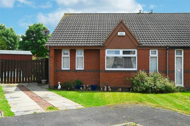 Thumbnail Semi-detached bungalow for sale in Saltscar, Redcar, North Yorkshire