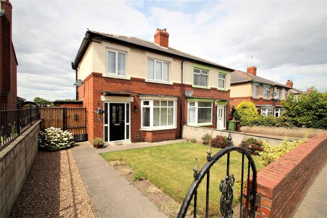 Thumbnail Semi-detached house for sale in Womersley Road, Knottingley, West Yorkshire