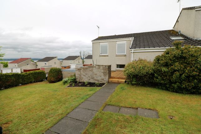 Thumbnail End terrace house for sale in Roebuck Place, Bo'ness