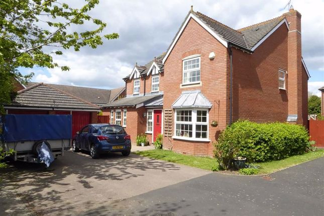 Thumbnail Detached house for sale in Medley Grove, Leamington Spa, Warwickshire