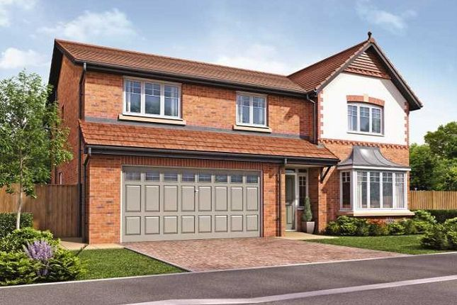 Thumbnail Detached house for sale in The Latchford II, Roseacre Gardens, Rufford, Lancashire
