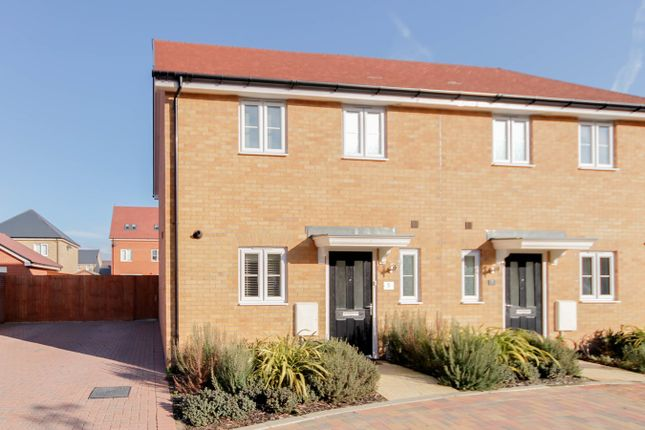 Thumbnail Semi-detached house for sale in Dennis Randle Way, Colchester