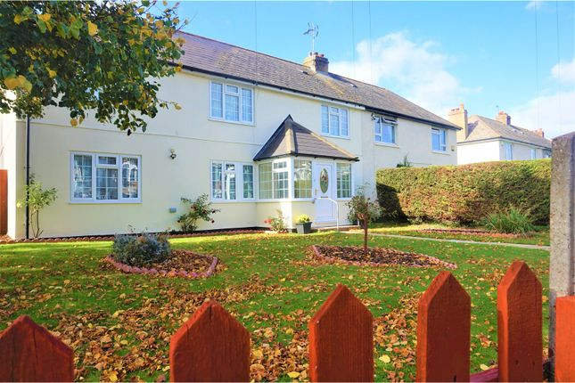 Thumbnail Semi-detached house for sale in Knockhall Chase, Greenhithe