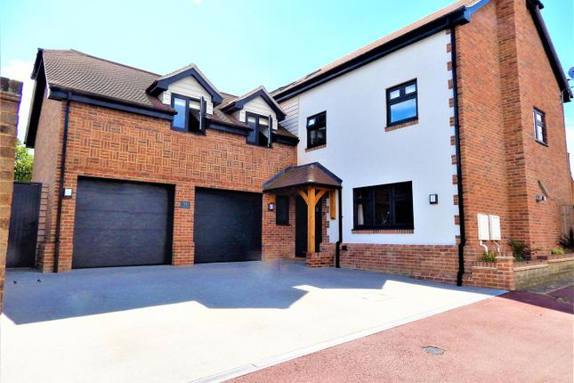 Thumbnail Detached house for sale in St. Johns Way, Borstal, Rochester