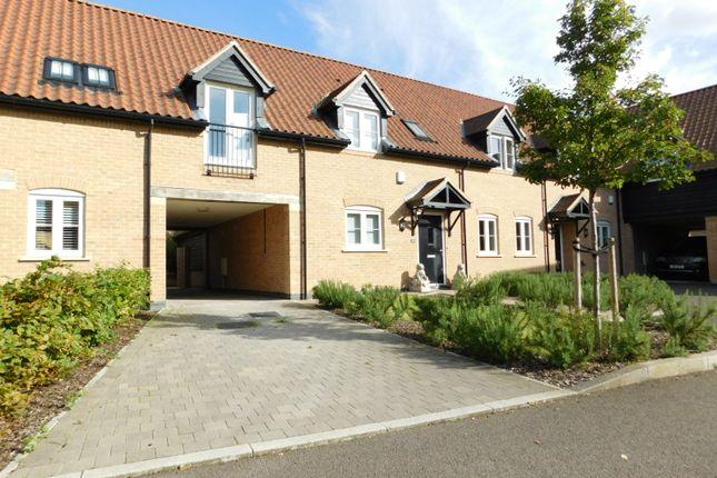 Thumbnail Terraced house for sale in Pedley Farm Close, Clifton, Shefford
