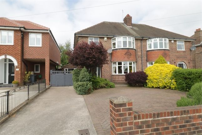 Thumbnail Semi-detached house for sale in Braithwell Road, Maltby, Rotherham, South Yorkshire