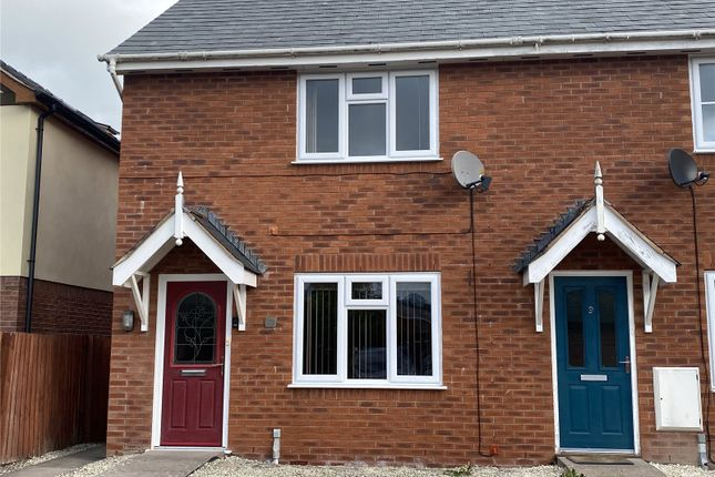 2 bed end terrace house to rent in Llys Melyn, Tregynon, Newtown, Powys SY16
