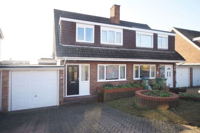 Thumbnail Semi-detached house for sale in Froxfield Gardens, Portchester, Fareham