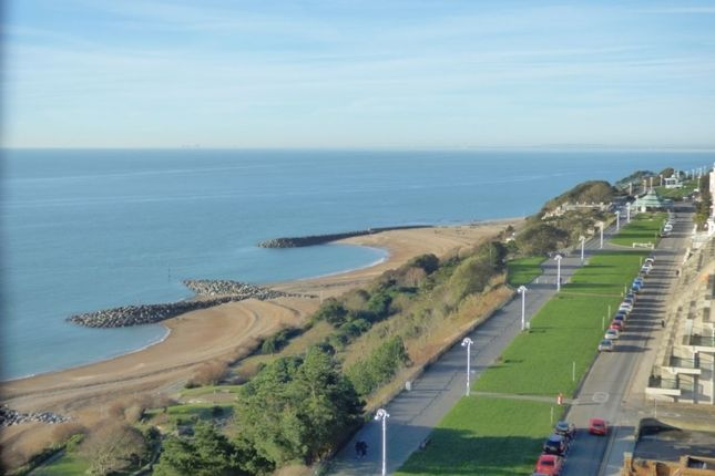 Thumbnail Flat for sale in The Leas, Folkestone