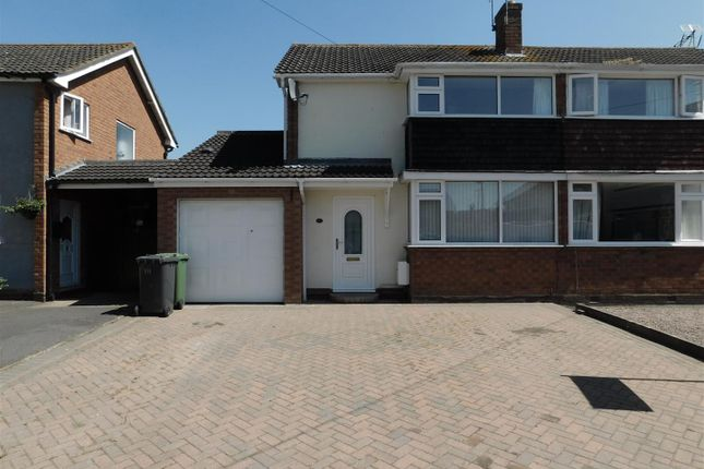 Thumbnail Semi-detached house to rent in Grasmere Grove, Stourport-On-Severn
