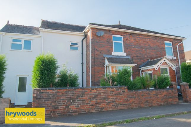 Thumbnail End terrace house to rent in Templar Terrace, Portill, Newcastle-Under-Lyme