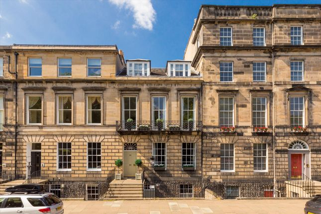Thumbnail Terraced house for sale in Heriot Row, New Town, Edinburgh