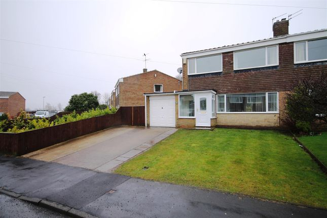 Thumbnail Semi-detached house for sale in Thorndale Road, Belmont, Durham