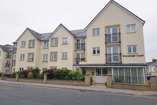 Thumbnail Flat for sale in Stoneleigh Court, John Street, Porthcawl