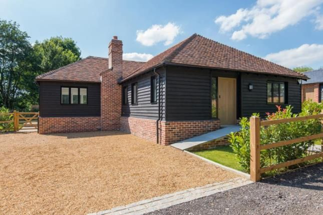 Thumbnail Bungalow for sale in Bassett Lodge, Magpie Lane, Little Warley, Brentwood