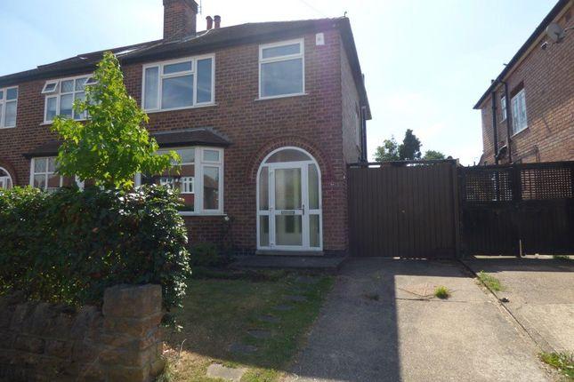 Thumbnail Semi-detached house to rent in Elvaston Road, Wollaton, Nottingham