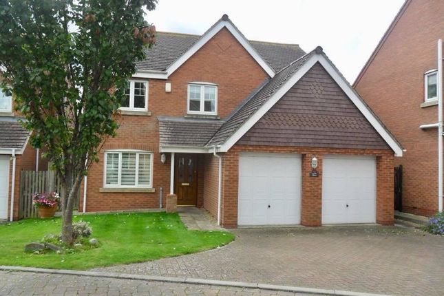 Thumbnail Detached house for sale in Wiggins Close, Rugby