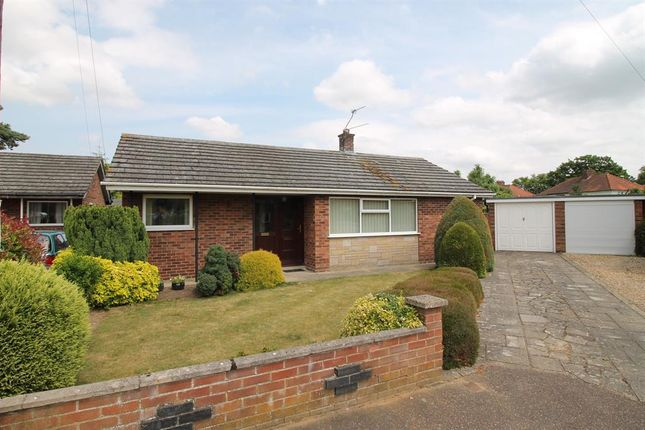 Thumbnail Detached bungalow for sale in Brandon Close, Hellesdon, Norwich