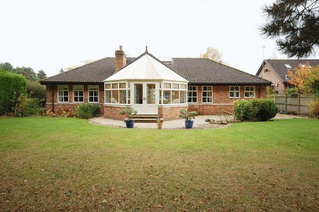 Thumbnail Detached bungalow for sale in Park Drive, Hepscott Park, Stannington, Morpeth