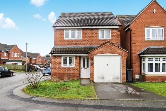 Thumbnail Detached house for sale in Aster Way, Walsall