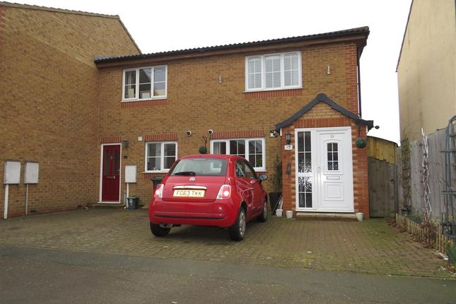 Thumbnail End terrace house for sale in Sackville Street, Raunds, Wellingborough