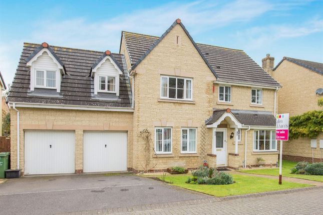 Thumbnail Detached house for sale in Rosemary Close, Calne