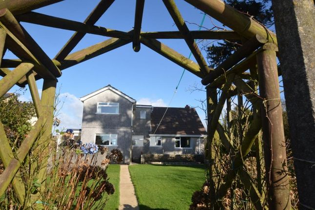 Thumbnail Detached bungalow for sale in Main Road, Ashton, Helston, Cornwall