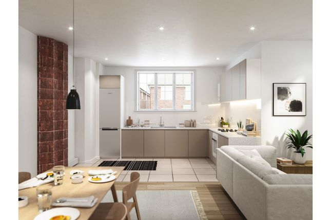 Thumbnail 2 bed flat for sale in St. Augustines Apartments, Stockport