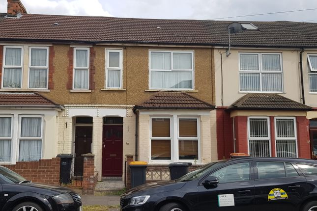 Thumbnail Terraced house to rent in Southville Road, Bedford
