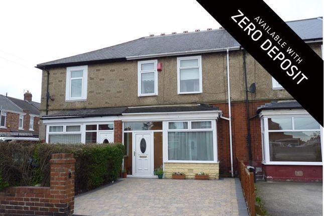 3 bed terraced house to rent in Weardale Avenue, Walker, Newcastle Upon Tyne NE6