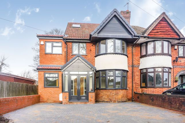 Thumbnail Semi-detached house for sale in School Road, Birmingham