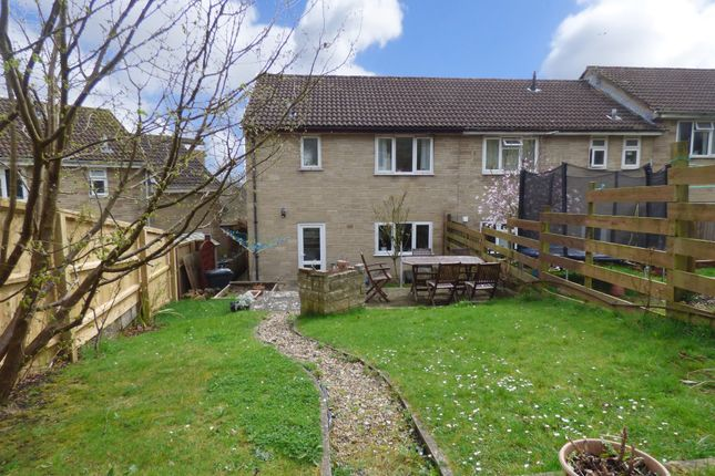 Thumbnail End terrace house for sale in Maunder Close, Wincanton