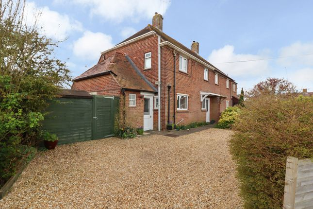 Semi-detached house for sale in Beech Grove, Owslebury, Winchester