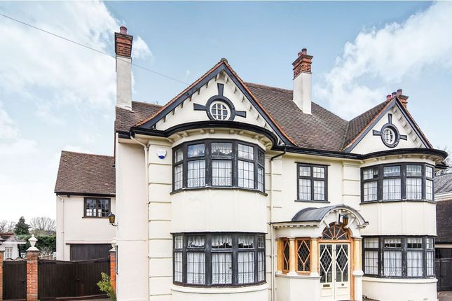 Thumbnail Detached house for sale in Sylvan Avenue, Hornchurch