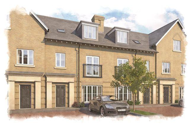 Thumbnail Terraced house for sale in Portland Gardens, Marlow, Buckinghamshire