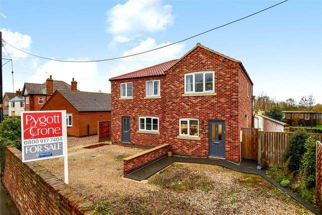 Thumbnail Semi-detached house for sale in West Street, Billinghay