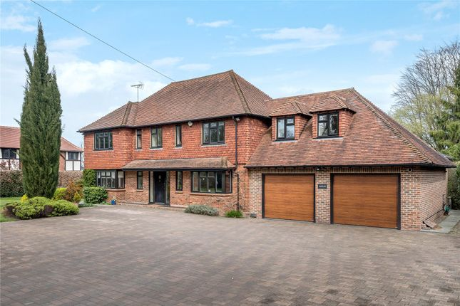 Thumbnail Detached house for sale in Church Road, Halstead, Sevenoaks, Kent