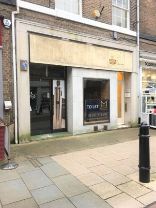 Retail premises to let in South Terrace, Dorchester