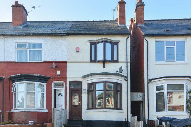 Thumbnail Terraced house for sale in Westbury Road, Edgbaston, Birmingham