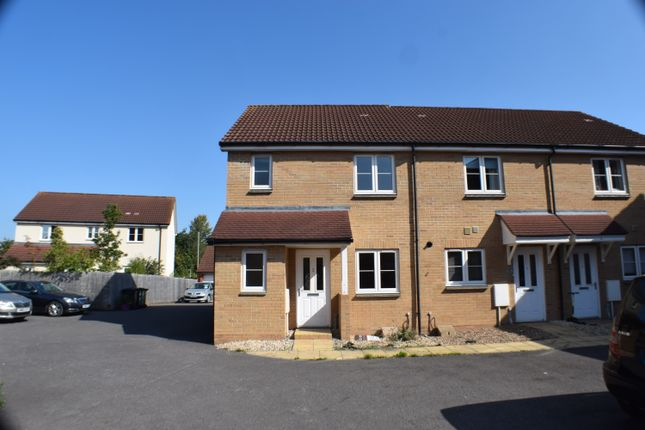 Thumbnail End terrace house to rent in Hillgrove Close, Kidsbury Road, Bridgwater