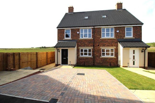 Thumbnail Semi-detached house for sale in Thill Stone Mews, Mill Lane, Whitburn, Sunderland