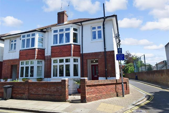 Thumbnail Semi-detached house for sale in Grove Road South, Southsea, Hampshire