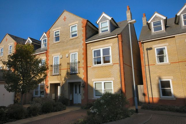Thumbnail Terraced house to rent in St. Barnabas Court, Cambridge