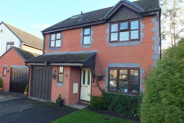 Thumbnail Detached house for sale in Martlet Close, Bowerhill, Melksham, Wiltshire