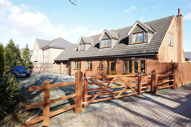 Thumbnail Detached house for sale in Station Road, Bagworth
