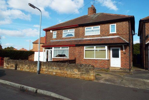 Thumbnail Semi-detached house to rent in Warwick Avenue, Beeston, Nottingham